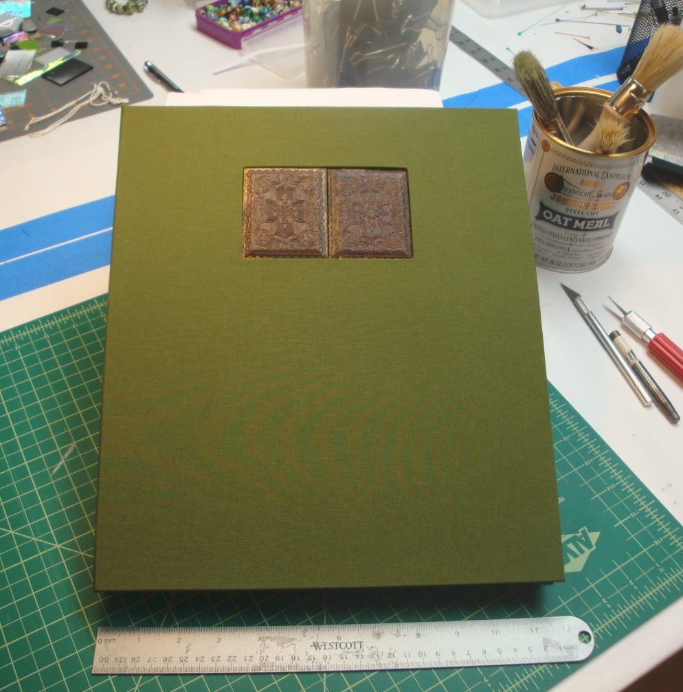 The cover of an artist book.