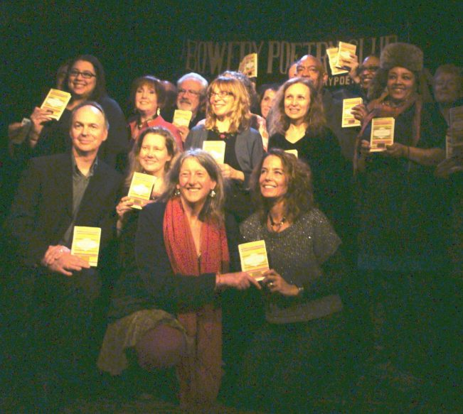 Contributors to Villanelles at the Bowery Poetry Club