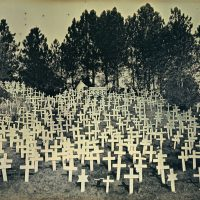 A daguerreotype from the Crosses series by Binh Danh