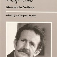 On the Poetry of Philip Levine cover.