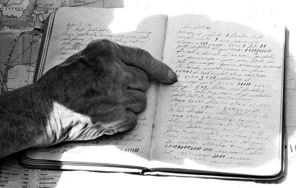 Robert Hunt's war diary.