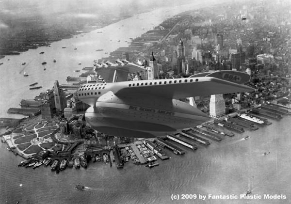 Airline 4 over Manhattan