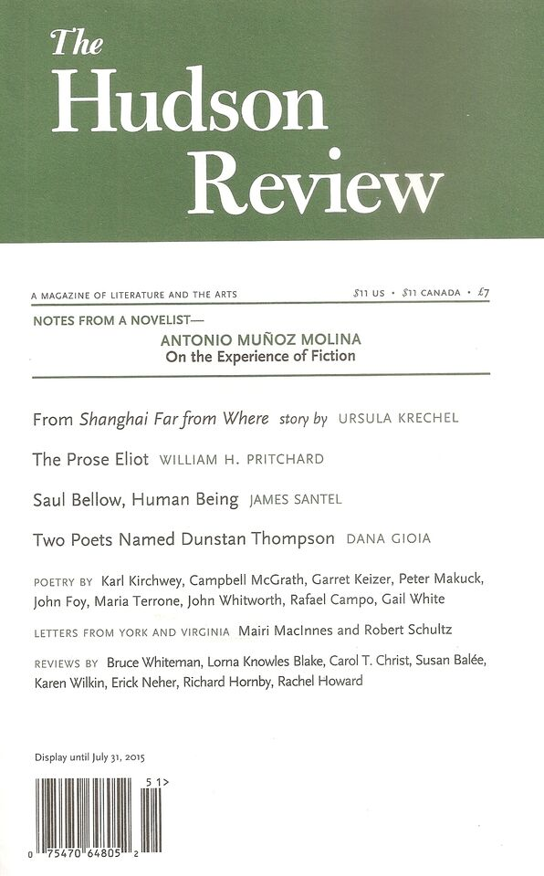 The Hudson Review cover
